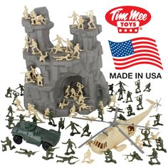 {Trying to find kids toy tips? Phone Watch For Kids, Armadura Ninja, Army Men Toys, Hot Toys Iron Man, Green Army Men, Army Party, Baby Doll Accessories, Lego War, Toy Soldiers