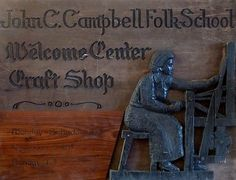 The Craft Shop Sign | John C. Campbell Folk School | Visit us at www.folkschool.org