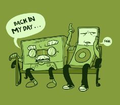 cassette, green, ipod, silly, spoof, tape