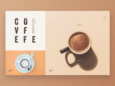 coffee poster design This coffee trumps all other coffees. The best. Web Design Trends, Design Café, Menu Design, Banner Design, Layout Design, Graphic Design, Design Ideas, Flat Design, Book Layout