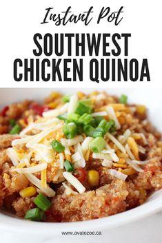 Instant Pot Southwest Chicken Quinoa Recipe