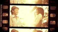 結婚式のオープニングムービー フィルムスライド