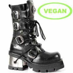m373-vc3 New Rock Vegan Boots