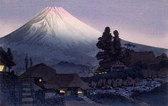 TAKAHASHI, Hiroaki  : Ukutsu   color woodcut on paper   23.9×37.0    The National Museum of Modern Art, Tokyo
