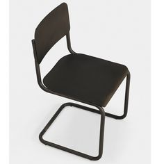 Emerson Metal Dark Brown Retro Dining Chairs