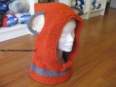 Lana e Cotone (maglia e uncinetto): Cappello volpe