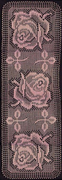filet crochet-Knitting Gallery
