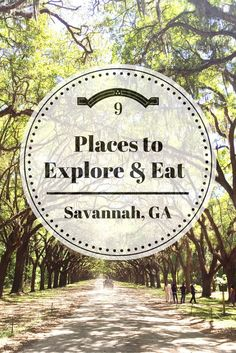 9 Places to Explore & Eat in Savannah, Georgia | Nesting on Oleander