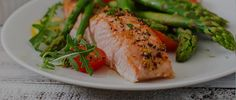 Check out our recipe for an easy, healthy lunch on the app: Salmon and Asparagus
