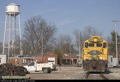 RailPictures.Net Photo: PREX 2036 Pioneer Rail Equipment Leasing (PREX) EMD GP20 at Grand Junction, Tennessee by M.J. Scanlon