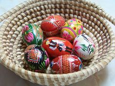 Painted Russian Easter Eggs