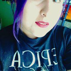 Top 100 purple hair color photos No tengo ni idea que escribir... #Epica #girlrocker #haircoloraddiction #purplehaircolor #lovely #perfectgirl #perfect #happiness #beautifulgirl #beautifulhair  #darkgirl #metalgirl #makeup #witch #bluebitch See more http://wumann.com/top-100-purple-hair-color-photos/