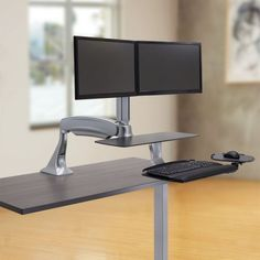 Humanscale 5g robuste support clavier ergonomique for Ikea assis stand bureau canada