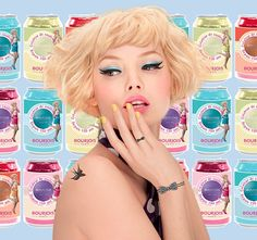 JUSTiBeauty Blog: Bourjois: Sixties Remix Beauty-Produkte