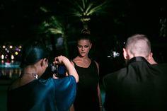 Sesión de fotos de Agdal para la Revista Photo durante el Art Basel Miami.