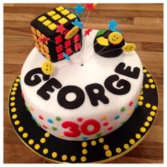 George must have been impressed with this cake made by Sally McCutcheon!