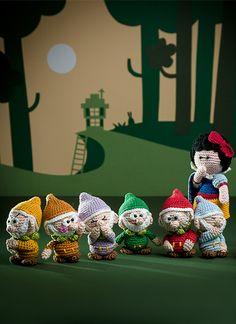 Amigurumi Fairytales - Snow White and the seven dwarfs