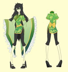 Dynastystuck Jade.