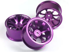 Aluminum Offset Wheels for 1/10 RC Cars in 4 / 5 / 6 degree offset