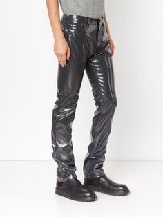 Calvin Klein Collection Beschichtete Hose - The Webster - Farfetch.com