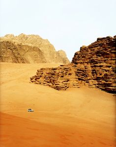 Dan Hallman, Parks and Safaris: A truck navigates the Wadi Rum desert in Jordan. To see the full collection, go to PDN, and also see PDN's travel photo contest, World in Focus.