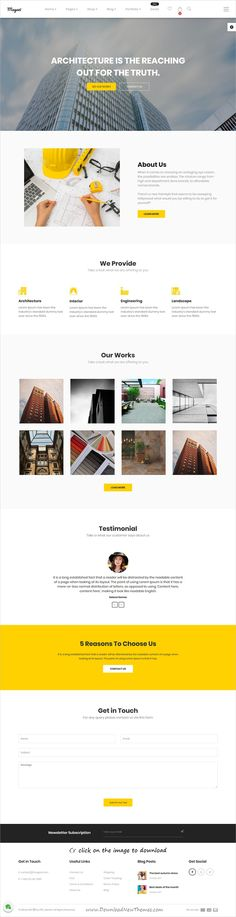Magazi is clean and modern design responsive multipurpose #Joomla template for #interior #architect #designer and eCommerce website with 25+ niche homepage layouts to download click on image.