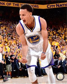 Stephen Curry Golden State Warriors Point Guard, Picture From Game 5 Of The 2014-2015 NBA Finals. 8x10 Photo. No.3 at Amazon's Sports Collectibles Store