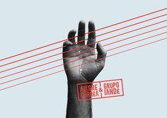 Alegre Correa & Grupo Iandé // Poster by Zans // #graphicdesign #poster #art #music #typography