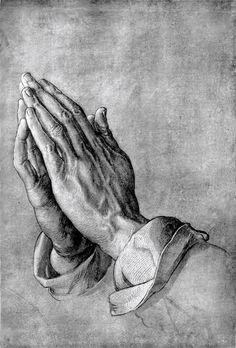 Praying Hands of Jesus