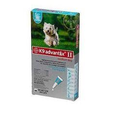Bayer K9 Advantix II Teal 6-Month Flea