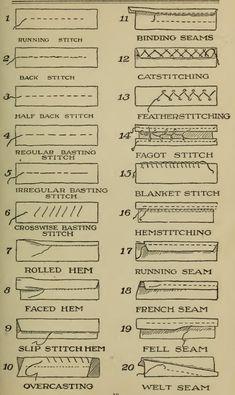 Sewing Basics, Sewing Hacks, Sewing Tutorials, Sewing Crafts, Sewing Tips, Hand Sewing Projects, Dress Tutorials, Sewing Stitches, Embroidery Stitches