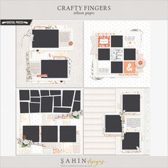 Crafty Fingers | Album Pages