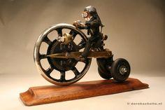 Junkart objects by Derek Scholte