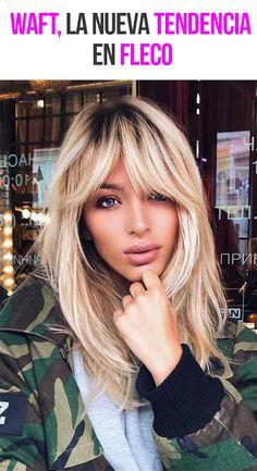 Face Shape Hairstyles, Fringe Hairstyles, Hairstyles With Bangs, Newest Hairstyles, Bangs Hairstyle, Blond Pony, Medium Hair Styles, Curly Hair Styles, Hair Medium