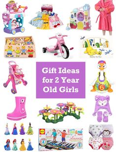 Christmas Gift Ideas For 2 Year Old Girls