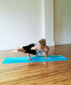 Eight-angle pose isn't so hard if you know each step of this yoga arm balance pose. Heidi Kristoffer breaks it down so you can easily do this pose