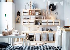 nothing like the small storage ikea trofast - Ikea DIY - The best IKEA hacks all in one place Trofast Ikea, Ikea Kura, Bedroom Organisation, Bedroom Storage, Casa Kids, Pine Furniture, Quality Furniture, Toy Rooms, Attic Craft Rooms