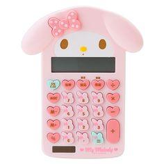my melody calculator マイメロディ マイメロ形キー電卓【楽天市場】