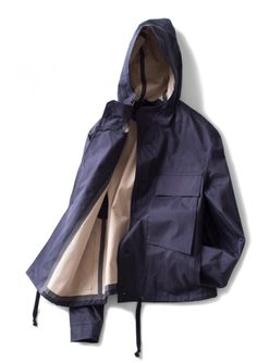 Federico Curradi : Jacket With Tapered Stitch (Ink Navy)