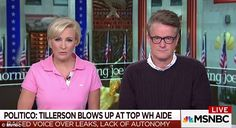 Trump sent the tweets minutes before the end of the engaged duo's MSNBC program, cutting d...