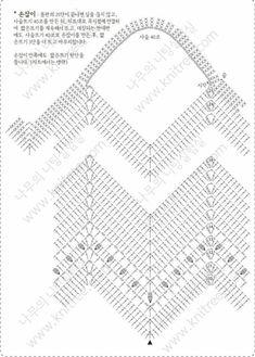 Crochet Bag With String Thread Crochet Purse Patterns, Granny Square Crochet Pattern, Crochet Diagram, Crochet Chart, Crochet Motif, Crochet Stitches, Crochet Beach Bags, Crochet Market Bag, Crochet Rope