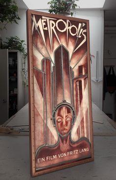 Metal Art Sculpture, Grisaille, Restaurant, Stained Glass, Deco, Inspiration, Movie, Art Deco, Restoration