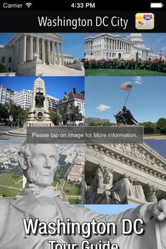 Washington DC Travel Guide Downloadable app for iPhone & iPad