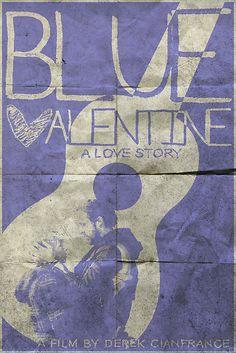 Blue Valentine Minimalist Movie Poster