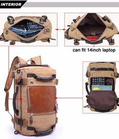 KAKA Brand Stylish Travel Large Capacity Backpack Male Luggage Shoulde – hue and shades Luggage Backpack, Rucksack Backpack, Hiking Backpack, Travel Backpack, Travel Bags, Messenger Bag, Hiking Bag, Elite Backpack, Bucket Backpack
