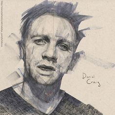 Daniel Craig by Natalya Yamshchikova