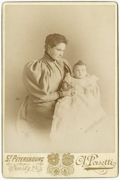Empress Alexandra with her eldest daughter Grand Duchess Olga Nikolaievna