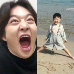 Baby Subie Btob Changsub, Yook Sungjae, Minhyuk, Btob Members, Korean Boy Bands, Baby Pictures, Nerdy, Rapper, Kpop
