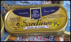 Voilà une petite recette vite préparée pour un apéro improvisé... 1 boîte de sardines à l'huile de colza La Perle des Dieux 1 oeuf dur 2 cs de Boursin cuisine au curry 2-3 cs de fromage blanc Rien de plus simple: dans un bol, écraser l'oeuf dur à l'aide...