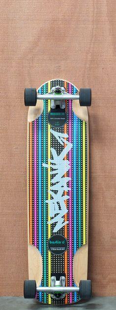 """$247.00 Bustin 34.75"""" Mekanik Longboard Complete"""